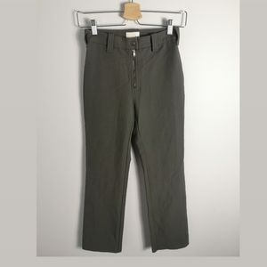 Wilfred light green high waist Ankle pant